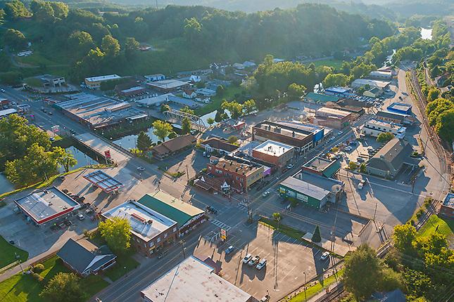 Copperhill/McCaysville on Tennessee Georgia border