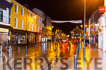 the usually busy High Street Killarney empty at 9pm on Saturday night