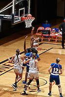 SAN ANTONIO, TX - NOVEMBER 16, 2016: The University of Texas at San Antonio Roadrunners defeat the Texas A&M University-Kingsville Javelinas 70-44 at the UTSA Convocation Center. (Photo by Jeff Huehn)