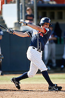 Clark Hardman of the Cal State Fullerton Titans during a game against the Stanford Cardinal at Goodwin Field on February 4, 2007 in Fullerton, California. (Larry Goren/Four Seam Images)