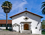Mission San Rafael Arcangel, the twentienth mission, founded on December 14, 1817. San Rafael, California. Mission San Rafael Arcangel was a medical asistencia of the Mission San Francisco de Asis as a hospital to treat sick Native Americans of the Bay Area, making it Alta California's first sanitarium.
