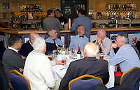 Pre-match hospitality ahead of the match against Nottingham Rugby in the Greene King IPA Championship match between London Scottish Football Club and Nottingham Rugby at Richmond Athletic Ground, Richmond, United Kingdom on 16 September 2017. Photo by Alan  Stanford.