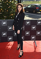Binky Felstead<br /> arriving for the TRIC Christmas Party, Grosvenor House Hotel, London.<br /> <br /> <br /> ©Ash Knotek  D3362  12/12/2017