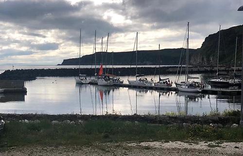 Rathlin Island Welcomes Yacht for Start of 2021 St.Kilda Challenge