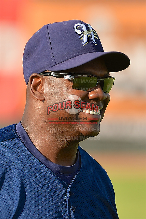 Tony Diggs (7) of the Helena Brewers prior to the game against the Ogden Raptors at Lindquist Field on July 23, 2013 in Ogden Utah. (Stephen Smith/Four Seam Images)