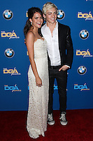 CENTURY CITY, CA - JANUARY 25: Maia Mitchell, Ross Lynch at the 66th Annual Directors Guild Of America Awards held at the Hyatt Regency Century Plaza on January 25, 2014 in Century City, California. (Photo by Xavier Collin/Celebrity Monitor)