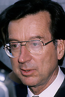 Le premier Ministre Robert Bourassa<br />  en mai  1992 (date inconnue)<br /> <br /> Photo:  Agence Quebec Presse