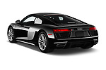 Car pictures of rear three quarter view of 2017 Audi R8 quattro 2 Door Coupe angular rear