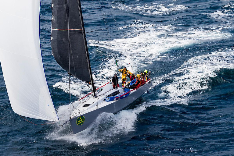 Didier Gaudoux returns with his 2017 overall winner, the JND39 Lann Ael 2 © Carlo Borlenghi/Rolex