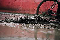Splash!<br /> <br /> Men's Race<br /> Belgian National CX Championschips<br /> Kruibeke 2019