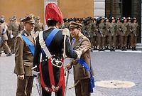 - NATO military ceremony at Verona headquarters....- cerimonia militare della NATO presso il comando di Verona