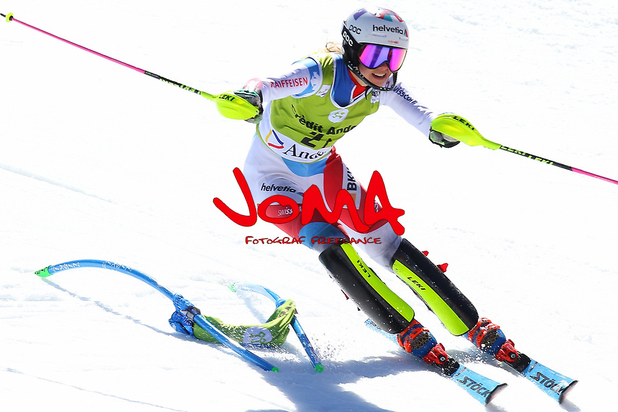 Switzerland beats Norway in an exciting end to the Alpine Team Event