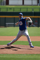Aaron Crow - Chicago Cubs 2016 extended spring training (Bill Mitchell)