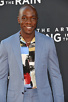 "LOS ANGELES, USA. August 02, 2019: McKinley Belcher III at the premiere of ""The Art of Racing in the Rain"" at the El Capitan Theatre.<br /> Picture: Paul Smith/Featureflash"