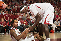 NWA Democrat-Gazette/ANTHONY REYES • @NWATONYR<br /> Arkansas against Tennessee in the second half Tuesday, Jan. 27, 2015 at Bud Walton Arena in Fayetteville. The Razorbacks won 69-64.