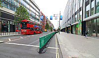 JUN 12 Temporary wide pavements in London