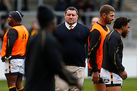 Photo: Richard Lane/Richard Lane Photography. Sale Sharks v Wasps. Aviva Premiership. 19/02/2017. Wasps' Director of Rugby Dai Young during the warm up.