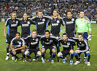 28 March 2009: San Jose Earthquakes Starting XI pose for the picture before the game against the Dynamo at Buck Shaw Stadium in Santa Clara, California.  San Jose Earthquakes defeated Houston Dynamo, 3-2.