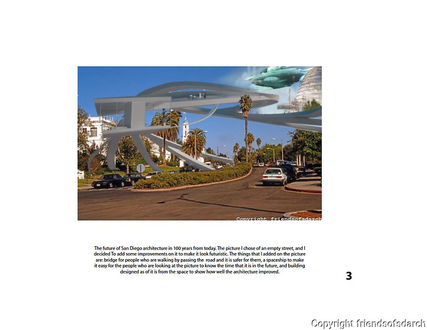 Entry from Sulaiman Alqasem, NSAD.<br /> USD entrance with bridge and spaceship added in future.