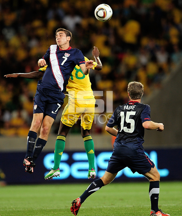 Alejandro Bedoya of the USA. during the  Soccer match between South Africa and USA played at the Greenpoint in Cape Town South Africa on 17 November 2010.  Photo: Gerhard Steenkamp/ISI Photo