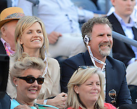 FLUSHING NY- SEPTEMBER 9: Will Ferrell and his wife seen watching Serena Williams Vs Victoria Azarenka in the Womens  finals on Arthur Ashe Stadium at the USTA Billie Jean King National Tennis Center on September 9, 2012 in in Flushing Queens. Credit: mpi04/MediaPunch Inc. ***NO NY NEWSPAPERS*** /NortePhoto.com<br /> <br /> **CREDITO*OBLIGATORIO** *No*Venta*A*Terceros*<br /> *No*Sale*So*third*...