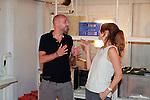 Jaume Balaguero & Manuela Velasco. Visita Rodaje [REC]4 Apocalipsis.