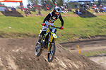 Brodie Connolly competes in 125cc race one. 2021 New Zealand Motocross Grand Prix at Old Gorge Road in Woodville , New Zealand on Sunday, 31  January 2021. Photo: Dave Lintott / lintottphoto.co.nz