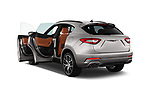 Car images close up view of a 2018 Maserati Levante Base 5 Door SUV doors