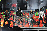 """Taboo,Apl.de.ap,Will.i.am & Stacy Ferguson aka Fergie of The Black Eyed Peas performs live at Staples Center as part of their """"The E.N.D. Tour"""" in Los Angeles, California on March 29,2010                                                                   Copyright 2010  DVS / RockinExposures"""