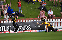 during the men's Dream11 Super Smash cricket match between the Wellington Firebirds and Northern Knights at Basin Reserve in Wellington, New Zealand on Saturday, 9 January 2021. Photo: Dave Lintott / lintottphoto.co.nz