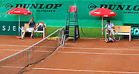 August 6, 2014, Netherlands, Rotterdam, TV Victoria, Tennis, National Junior Championships, NJK,  Joris Bodin (NED) and left Stephan Gerritsen (NED)<br /> Photo: Tennisimages/Henk Koster