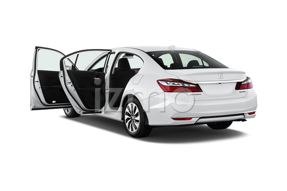 Car images of 2017 Honda Accord Hybrid 4 Door Sedan Doors
