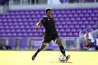 Orlando, Florida - Monday January 15, 2018: Ema Twumasi. Match Day 2 of the 2018 adidas MLS Player Combine was held Orlando City Stadium.