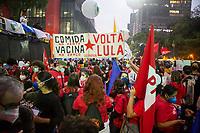 19/06/2021 - MANIFESTAÇÃO FORA BOLSONARO EM SÃO PAULO
