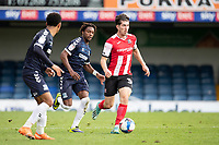 Josh Key of Exeter City brings the ball forward during Southend United vs Exeter City, Sky Bet EFL League 2 Football at Roots Hall on 10th October 2020