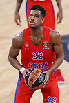 Turkish Airlines Euroleague.<br /> Final Four - Vitoria-Gasteiz 2019.<br /> Semifinals.<br /> CSKA Moscow vs Real Madrid: 95-90.<br /> Cory Higgins.
