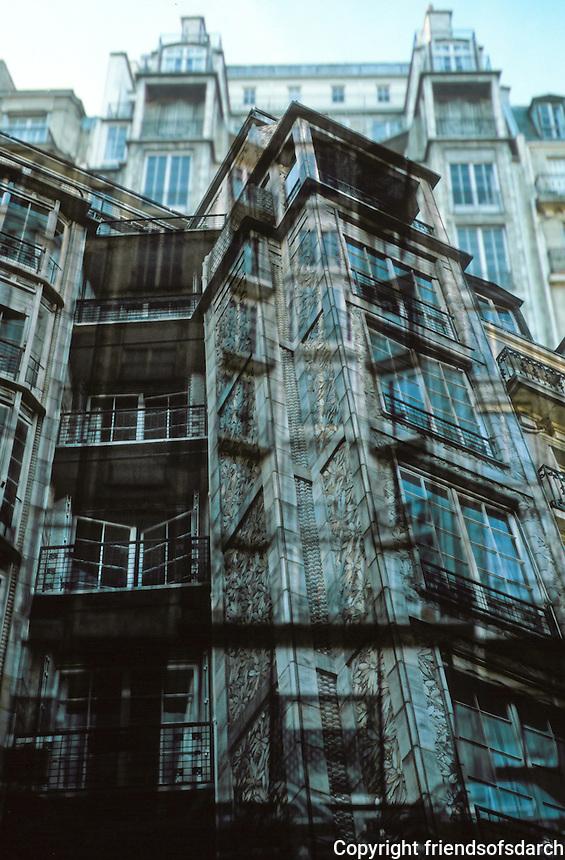 Auguste Perret: Franklin Apartments, 1902. Paris--26 Rue Franklin. Concrete construction.