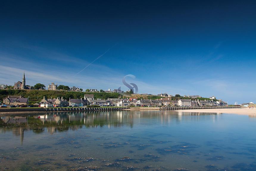 The River Lossie, Seatown, Lossiemouth, Moray