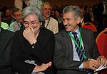 MASSIMO D'ALEMA CON ROSI BINDI<br /> ASSEMBLEA PARTITO DEMOCRATICO - HOTEL MARRIOT ROMA 2009