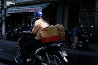 Traffic in Nha Trang,2017