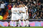 Real Madrid's Raphael Varane goal during Spanish  Kings Cup match on december 20th, 2011..Photo: Cesar Cebolla / ALFAQUI