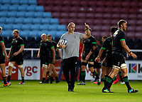 9th September 2020; Twickenham Stoop, London, England; Gallagher Premiership Rugby, London Irish versus Harlequins; Harlequins Head Coach Paul Gustard giving the thumbs up during warm up