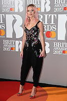 Zara Larsson<br /> arrives for the BRIT Awards 2017 held at the O2 Arena, Greenwich, London.<br /> <br /> <br /> ©Ash Knotek  D3233  22/02/2017