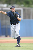 August 13, 2008: Guy Lucian (57) of the GCL Yankees.  Photo by: Chris Proctor/Four Seam Images