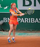 Svetlana Kuznetsova (RUS) defeats Camila Giorgi (ITA) 7-6, 6-3 at  Roland Garros being played at Stade Roland Garros in Paris, France on May 29, 2014