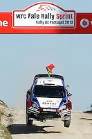 Nasser Al-Attiyah (QAT) and Giovanni Bernacchini (ITA), Ford Fiesta RS WRC of QATAR M-SPORT WORLD RALY TEAM during WRC Fafe Rally Sprint 2013, in Fafe, Portugal on April 6, 2013(Photo Credits: Paulo Oliveira/DPI/NortePhoto)