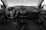 Straight dashboard view of a 2008 Scion XD