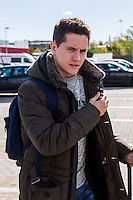Spainsh Ander Herrera arriving at the concentration of the spanish national football team in the city of football of Las Rozas in Madrid, Spain. November 08, 2016. (ALTERPHOTOS/Rodrigo Jimenez) ///NORTEPHOTO.COM