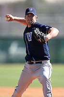 February 26, 2010:  Pitcher Brian Streilein of the Villanova Wildcats during the Big East/Big 10 Challenge at Raymond Naimoli Complex in St. Petersburg, FL.  Photo By Mike Janes/Four Seam Images