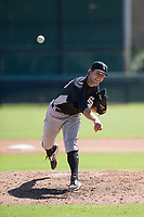 Chicago White Sox pitcher Kyle Von Ruden (39) follows through on his delivery during an Instructional League game against the Los Angeles Dodgers on September 30, 2017 at Camelback Ranch in Glendale, Arizona. (Zachary Lucy/Four Seam Images)